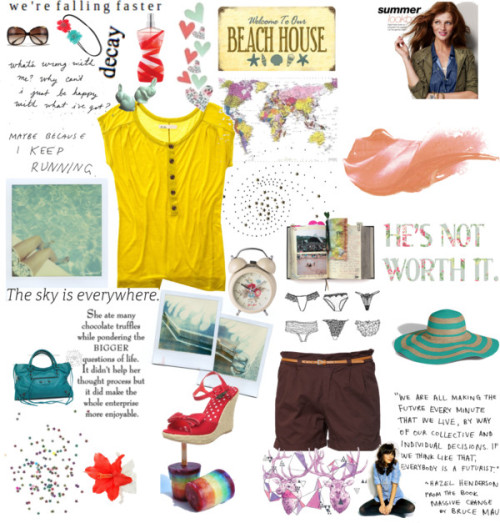 summer of fun by fmunirah05 featuring juicy couture hats