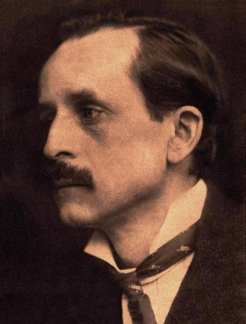 "J. M. Barrie (1860-1937), creator of Peter Pan, 5' 3""."