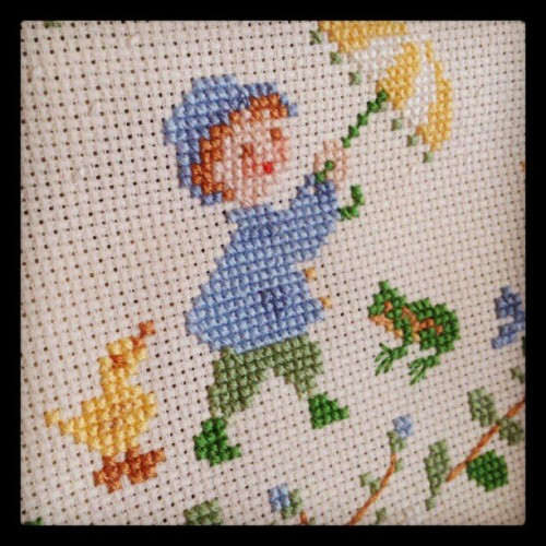 Cross stitch (來自 instagram)
