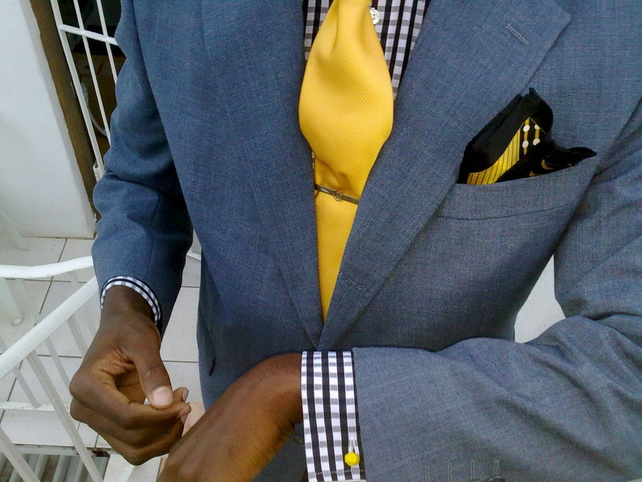 #Dresswell Make a statement..Add Colour todaystie:  Perfect Gentleman