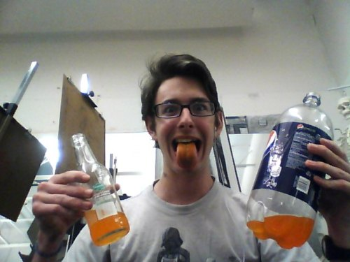 anyway ive been drinking a lot of orange soda