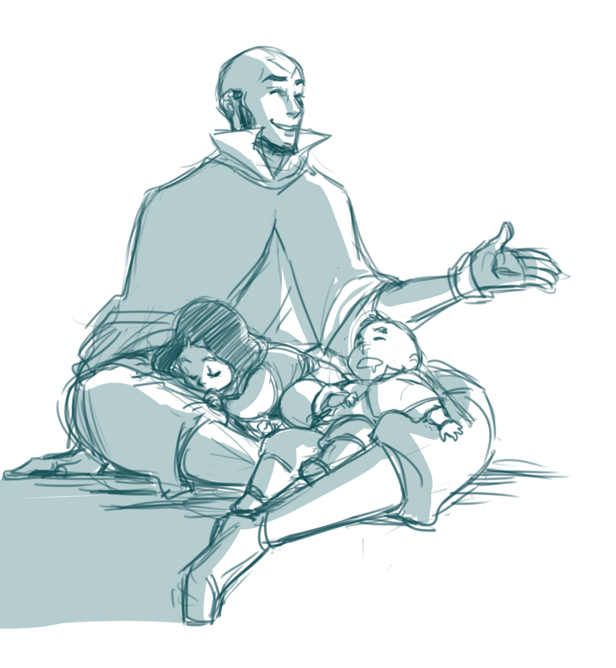 minuiko:  Aang is the best dad/uncle, y'all.
