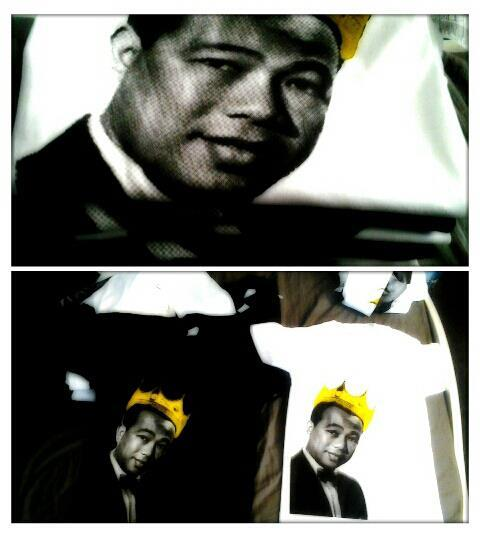 I design this t-shirt dedicated to the king of khmer music.Sin Sisamouth live on forever. submitted by: rothana nguon via email. — that's pretty awesome btw! i love it :)
