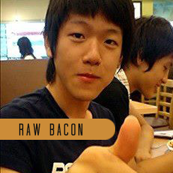kmexoplanet:  yuan-tian:  infamouskem:  kmexoplanet:  SO MUCH BACON!  RAW AND THICK CUT…. lmao!  a whole menu full of bacon?   LOL yes! There is a Endless supply of bacon.