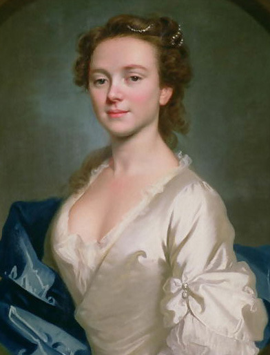 Miss Craigie, later Mrs John Reid. (Painted 1741 by Allan Ramsay)akaModel, Lily Cole (19 May 1988 - Present)
