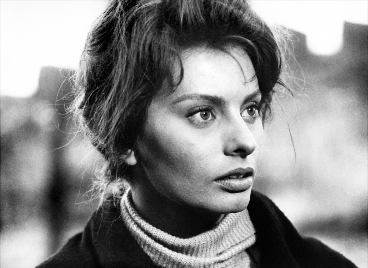 howtowhistle:  Sophia Loren in Two Women (1960)