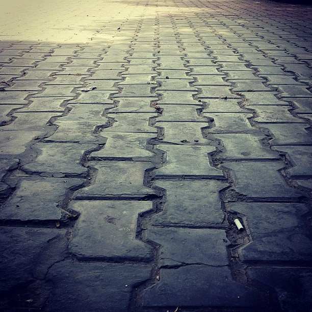 Tile Pattern (Taken with instagram)