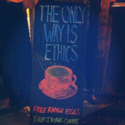 The only way is Ethics