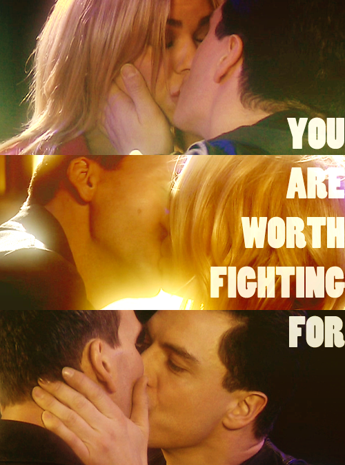 such-heights:  doctor who meme | five ships (02) | nine and rose and jack  See you in hell.