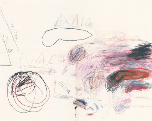 Cy Twombly, First Days at Iliam: Achaeans in Battle, 1978