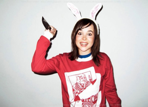 everybodylovesthem:  Ellen Page.