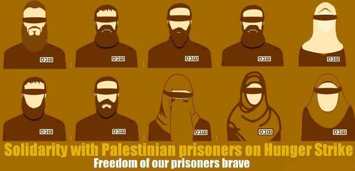 letssharestories:  Freedom of Our prisoners brave….. Please, Our friends Change your profile Solidarity with Palestinian prisoners on Hunger Strike Please Share this Status with your friends to spread awarness about the biggest hunger Strike in history..Bilal Thiab … 76 DaysThaer Halahleh … 76 DaysHassan Safadi … 70 DaysOmar Abu Shallal … 68 DaysMohammedd Al-Taj … 60 DaysMahmoud Sarsak … 54 DaysFaris Al-Natur … 47 DaysJa'far Ezz Al-Din … 53 DaysAbdallah Al-Barghouthi 32 Daysmore than 2000 Prisoner …. 27 Days Share it and don't let their human case be burried, all they are asking for is their basicrights as prisoners of war, Visit rights (some of them haven't seen their families for years!), Right of education and other rights that are declared by international lawPlease Share