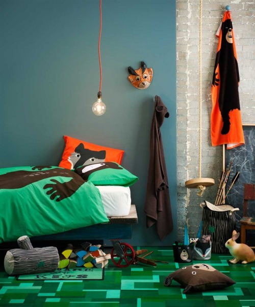 fromscandinaviawithlove:  Fall 2012 by H&M Home.  H&M Home?!?!  why don't we have a home section in the US? that's stupid.