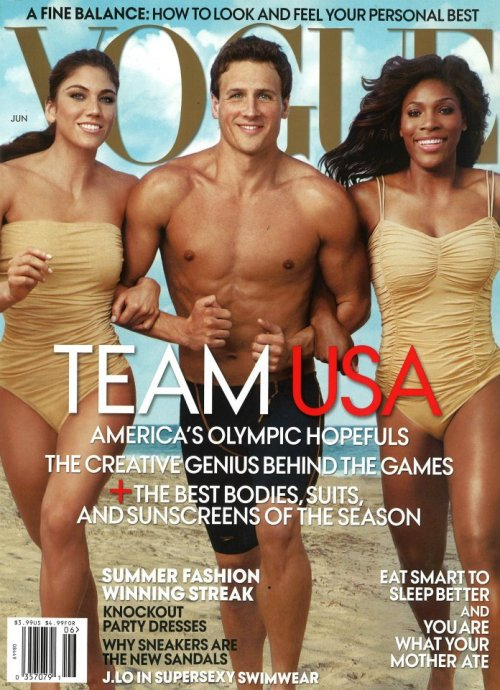 Let the games begin! Vogue US June 2012