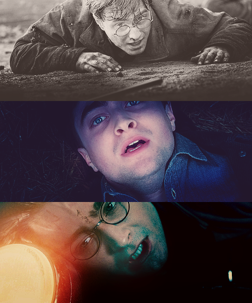 "itwasdraco:  ""Hold on, Harry."""