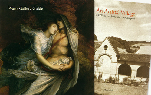 Watts Gallery nominated for the Art Fund Prize The restoration of Webb & Webb client the Watts Gallery by ZMMA architects has been nominated for the 2012 Art Fund Prize, the prize recognises excellence in museum and gallery exhibition design and refurbishment completed in the previous year. Watts Gallery, which opened in 1904, was built to provide a permanent exhibition for the studio collection of works of art belonging to George Frederic Watts and W&W designed the gallery guide to accompany the restoration and new permanent exhibition as well as a gallery wayfinding system. We also designed the book An Artist's Village: G.F Watts and Mary Watts at Compton for Philip Wilson Publishers, an division of I.B.Tauris and Co Ltd. The 176 page book tells the story of the impact of Watts and his wife Mary on Compton, a small village in Surrey which became their artists' retreat and where they built the Gallery, the Compton pottery, and the extraordinary Cemetery Chapel. Both the guide and book are available to buy directly from the Watts Gallery online shop by clicking on this link. Click here to follow us on Twitter @webbandwebb