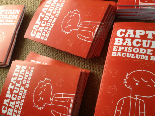 If you missed your chance to order a copy of my comic, Captain Baculum, you can grab one now! Available WHILE STOCKS LAST!