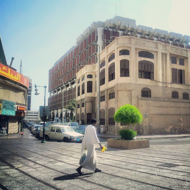 Legend, not old. (Taken with Instagram at Downtown, Al Balad | االبلد)