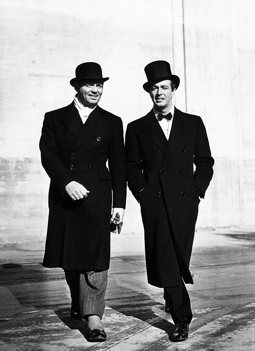 Clark Gable & Robert Taylor, 1940