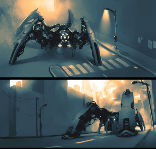 monsterman:  Mecha Concepts by *Kurunya on deviantART