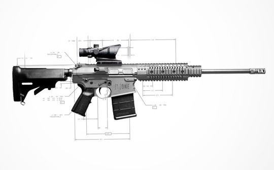 The $100,000 Titanium AR Price and practicality aside, this is dope…