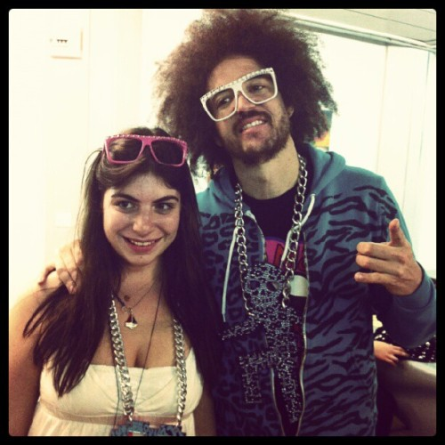 Woow best two days of my life! @redfoo and I #lmfao #redfoo  (Pris avec instagram)