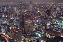 "I remember those nights, at the top of the buildings in Osaka & Tokyo with my friend… looking down on the lights…  ""Tsukiji 3"""