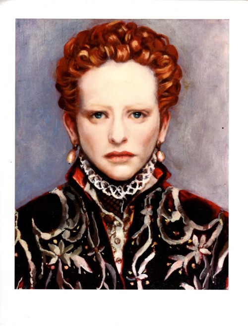 Cate Blanchett as Elizabeth Ioil on panel'99 S.Playford ? Josephsurface