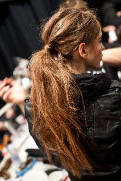 amp up your PONYTAIL