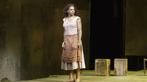 "Audra McDonald on stereotypes in Porgy and Bess:""[Author DuBose Heyward] really tried to get into their mindset, which was an incredible feat for that period, but it was still written at a time when blacks and whites were not commingling. So even though he researched as much as he possibly could, there were some aspects he couldn't possibly know. He didn't live it, and it wasn't a time when blacks and whites could commingle. But as African-Americans, we can bring something to it that is our own experience, which is a truer experience just by the fact that it can't possibly be anything but a truer experience because we actually are African-American. But people throughout the history of this piece have come down on both sides saying, 'This is stereotypical and this is archetypes.'"""