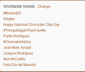 fti5:  [news] FTisland is #1 on WWTT GOOD job pri!