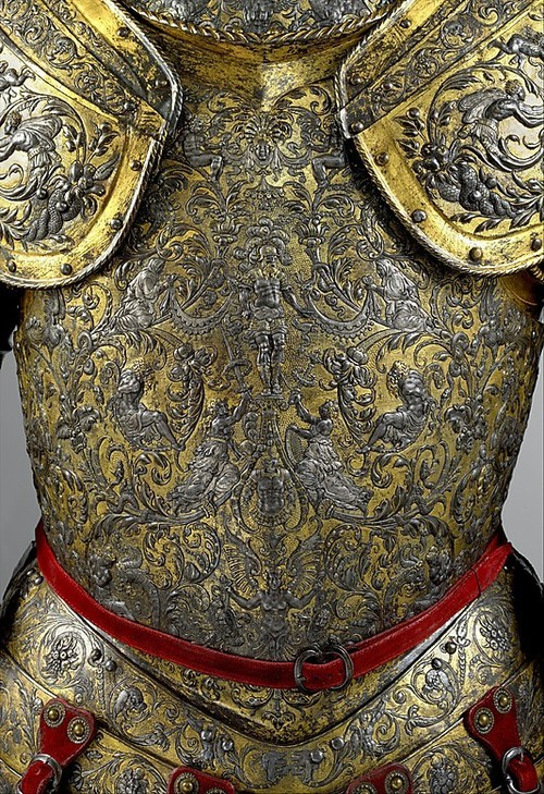 Jaime Lannister's armour - Armour of Henry II of France Date about 1555