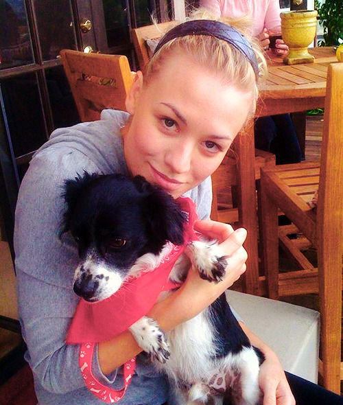 Yvonne Strahovski. Damn looking hot even with animals