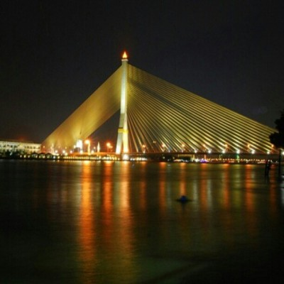 Rama VIII bridge  (Taken with instagram)