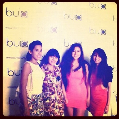 Erin, Carol, Danni and me 12May2012 #buio #club #clubbing #italy #italia  (Taken with Instagram at Club Buio)