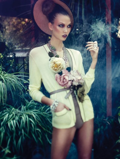 collections-from-vogue:  Karlie Kloss by Alexi Lubomirski for Vogue Germany, December 2011