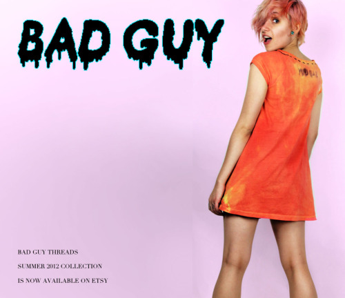 -windowlicker:  badguythreads:  SAD SUN TEE DRESS by BAD GUY THREADS NOW AVAILABLE ON ETSY !!!  Check it out, you guys! This is the clothing company my boyfriend and I have just started. We've only been working on it for a month or two, but we've come up with some pretty cool clothing. I would really appreciate it if you took a second to look through our ETSY and follow our TUMBLR, we only have 15 followers and we're finna get famouz~*~*** :(