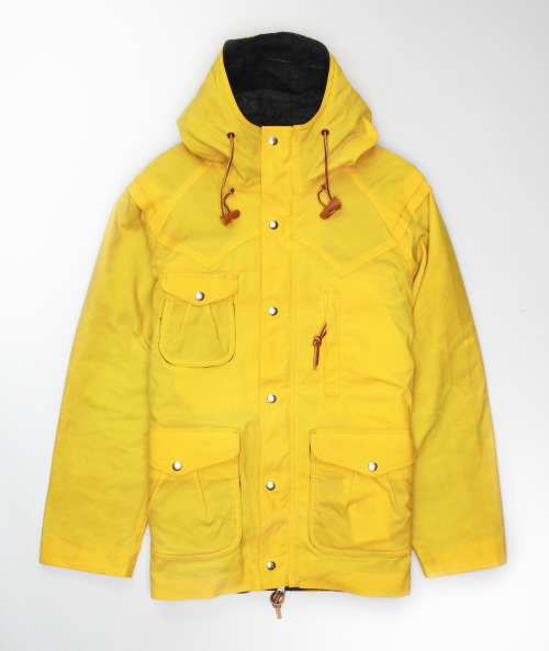 Monitaly - Mountain Parka in Yellow  via