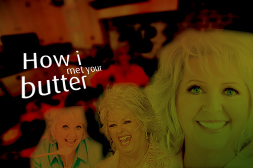 morenamagia:  we-r-o-k:  How I Met Your Butter  Oh my God.