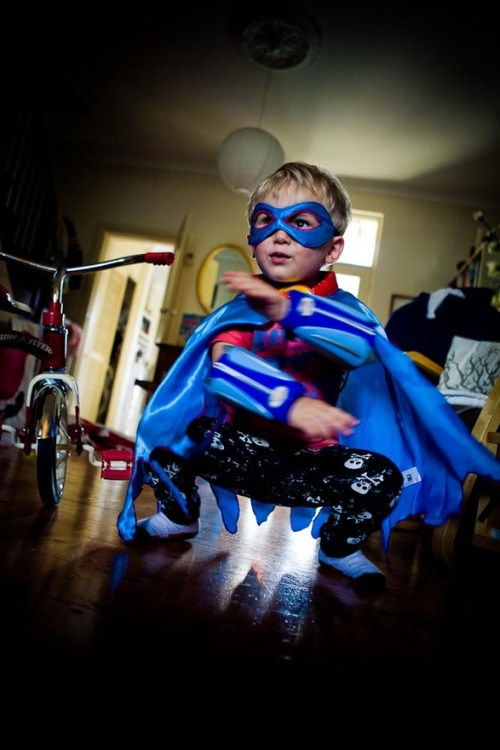 Superhero Jesse! photo courtesy of Vashti Whitfield
