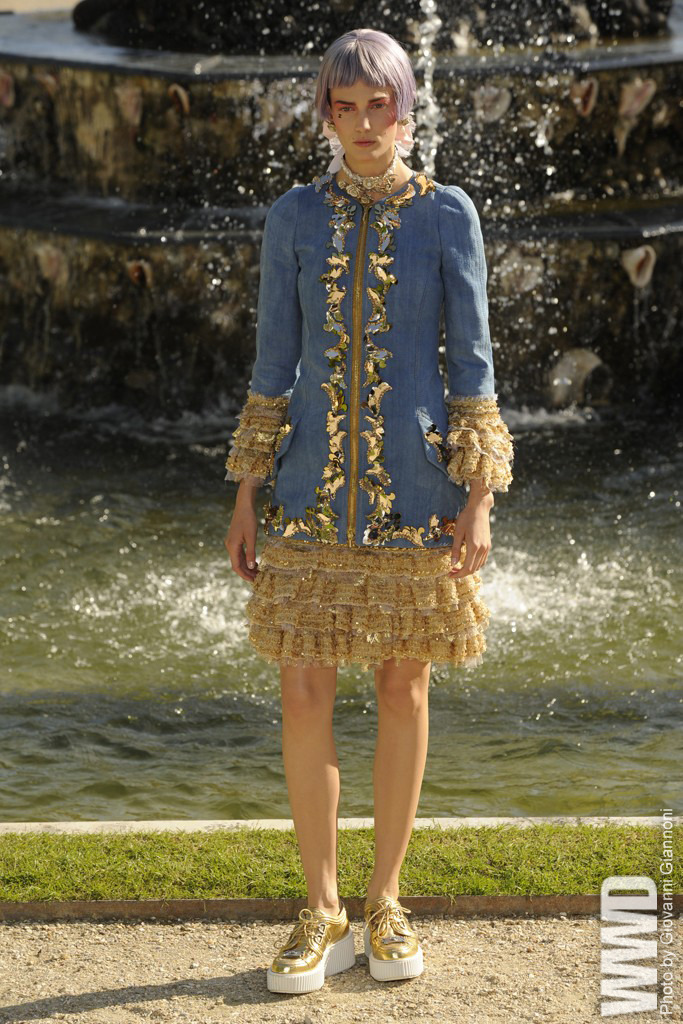 womensweardaily:  Chanel Resort 2013