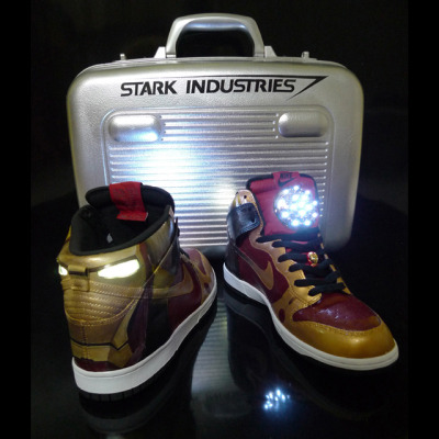 Iron Man Dunks by J'field Yeo get them here