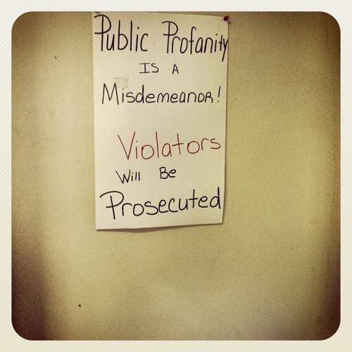 At the license testing station. (Taken with instagram)