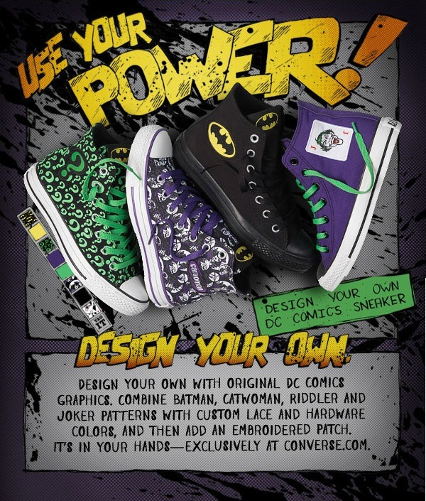 I want the Riddler ones!