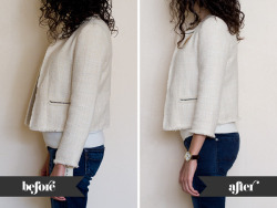 (via Adventures in Alterations – Tailoring a Zara Kids Jacket)