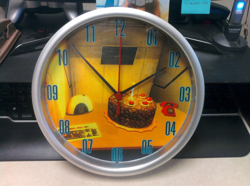 The cake may be a lie, but this Aperture Science Clock sure isn't!