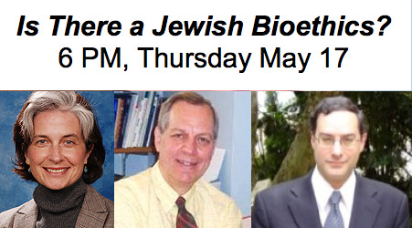 Trail of the Magic Bullet: Jewish Bioethics, Secular Bioethics and End of Life Issues6 PM, Thursday, May 17, 2012 Free Admission; Reservations Required: RSVP to programs@yum.cjh.org Does Jewish bioethics differ from secular bioethics? Is there just one Jewish approach to bioethics? A distinguished panel of leading Jewish clergy and scholars, medical practitioners and bio-ethicists bring different perspectives and approaches to these questions in a lively discussion focused on end of life issues. Preceding the discussion will be a tour with the curator of Trail of the Magic Bullet - The Jewish Encounter with Modern Medicine, 1860-1960, and a special viewing of Heal, You Shall Heal, a film produced for the Trail of the Magic Bullet exhibition at the YU Museum. 6:00pm: Exhibition tour with curator Josh Feinberg (Exhibition info: http://yumuseum.tumblr.com/MagicBullet) 6:30pm: Film screening and panel discussion PANEL DISCUSSANTS  Dr. Tia Powell, Director, Montefiore‐Einstein Center for Bioethics; Chair, Bioethics Committee, Montefiore Medical Center Dr. Kenneth Prager, Director, Clinical Ethics and Chairman of the Medical Ethics Committee of Columbia University Medical Center Rabbi Richard Weiss, MD, Young Israel of Hillcrest in Queens and Adjunct Assistant Professor of Biology at Stern College for Women of Yeshiva University