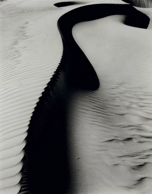 Brett Weston, Dunes, Oceano, 1935, printed later (+)
