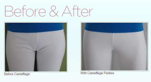 laughingsquid:  Camelflage, Panties Designed to Smooth Out Cameltoe
