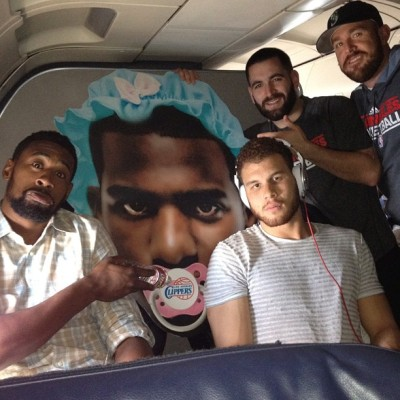 nbaoffseason:  Look at these basketball players.  Via Madelyn Burke